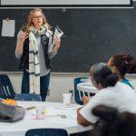 women teaching