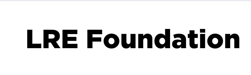 lre foundation founding partner logo