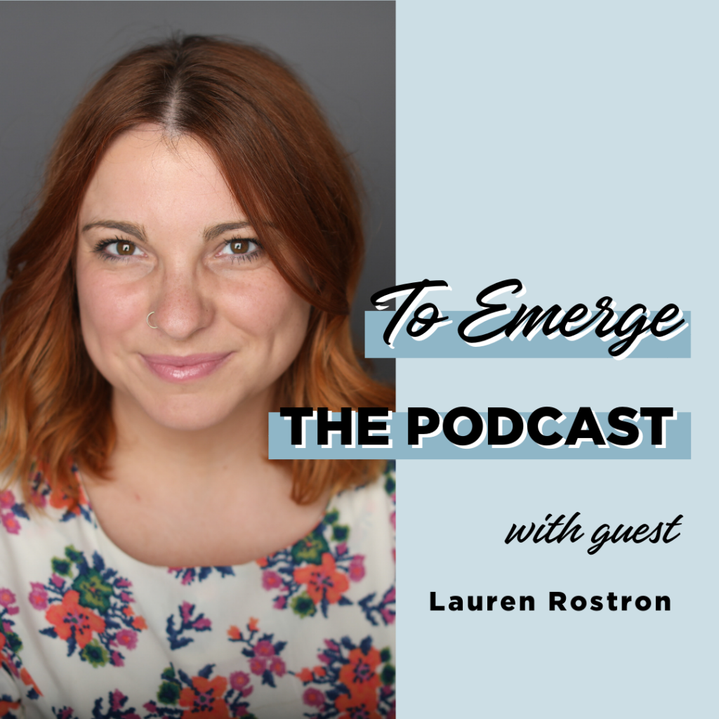 to emerge podcast cover