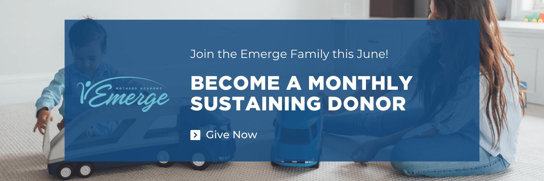 June Sustaining Donor graphic
