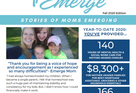 FAll 2020 emerge newsletter