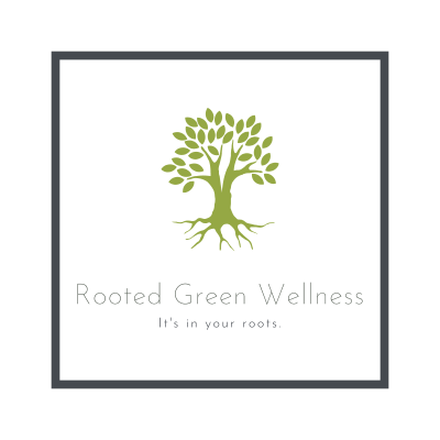 rooted green